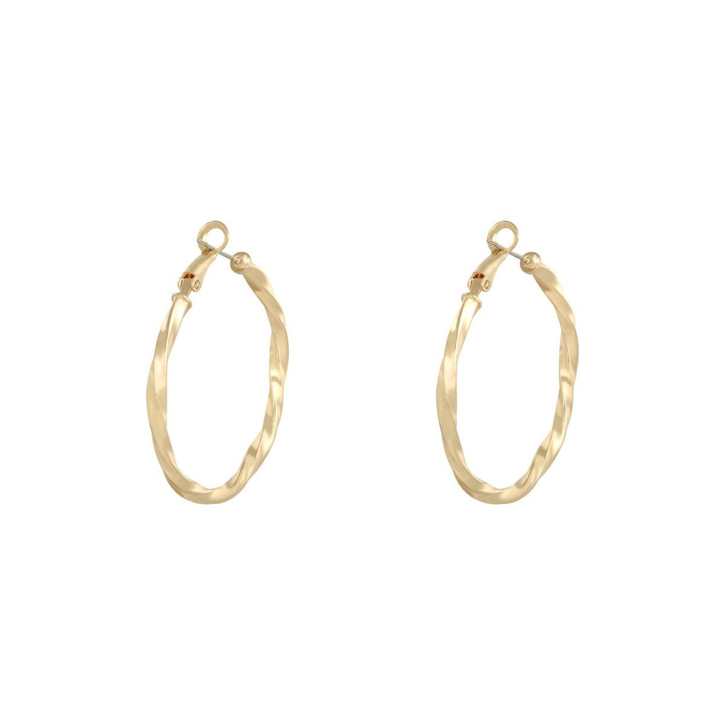 Josephine Earrings Gold and Silver - Earrings, Earrings Gold, earrings silver, new arrivals - Josephine Earrings Gold and Silver - ANNABO Online Store
