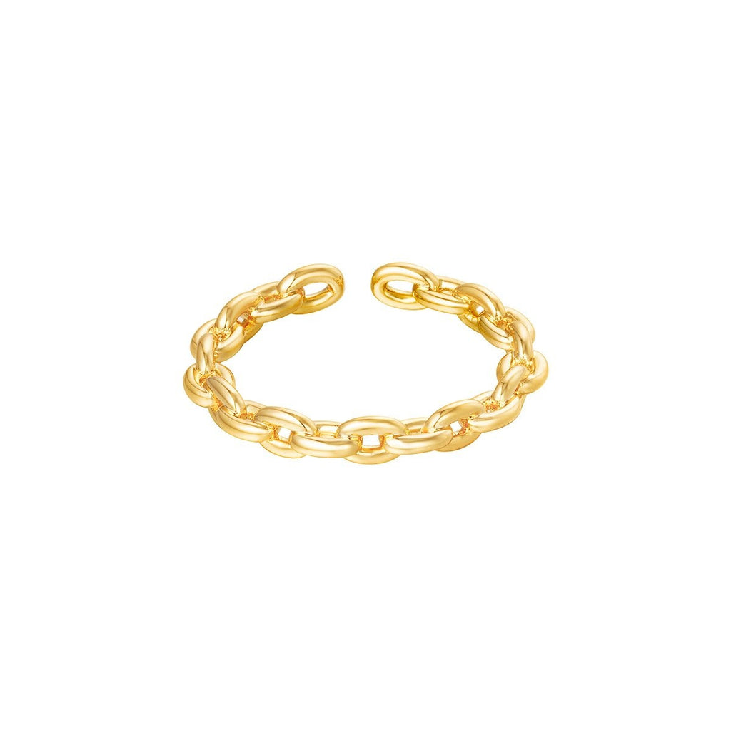 Frederique Ring Gold and Silver - new arrivals, Rings, Rings Gold, Rings Silver - Frederique Ring Gold and Silver - ANNABO Online Store