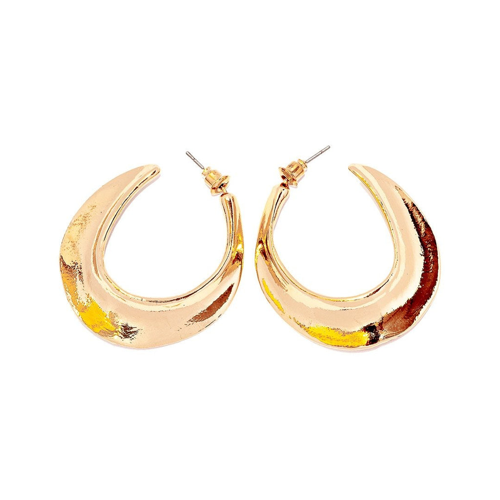 Chloë Luxury Earrings Gold and Silver - Earrings, Earrings Gold, earrings silver, Ruby Collection SS '20 - Chloë Luxury Earrings Gold and Silver - ANNABO Online Store