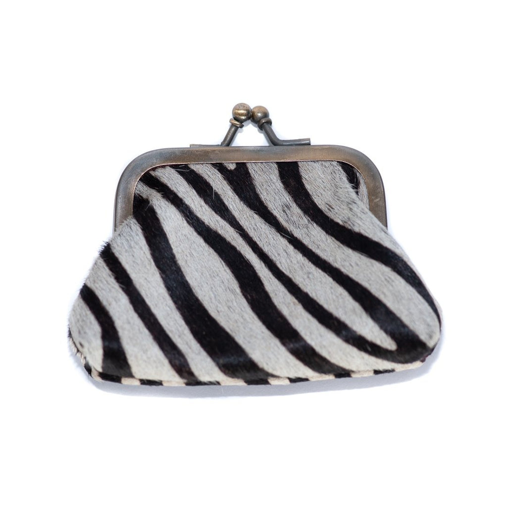 Zoë Zebra Full Leather Wallet - GiGi Fall/Winter '19, Leather Wallets, Wallets - Zoë Zebra Full Leather Wallet - ANNABO Online Store