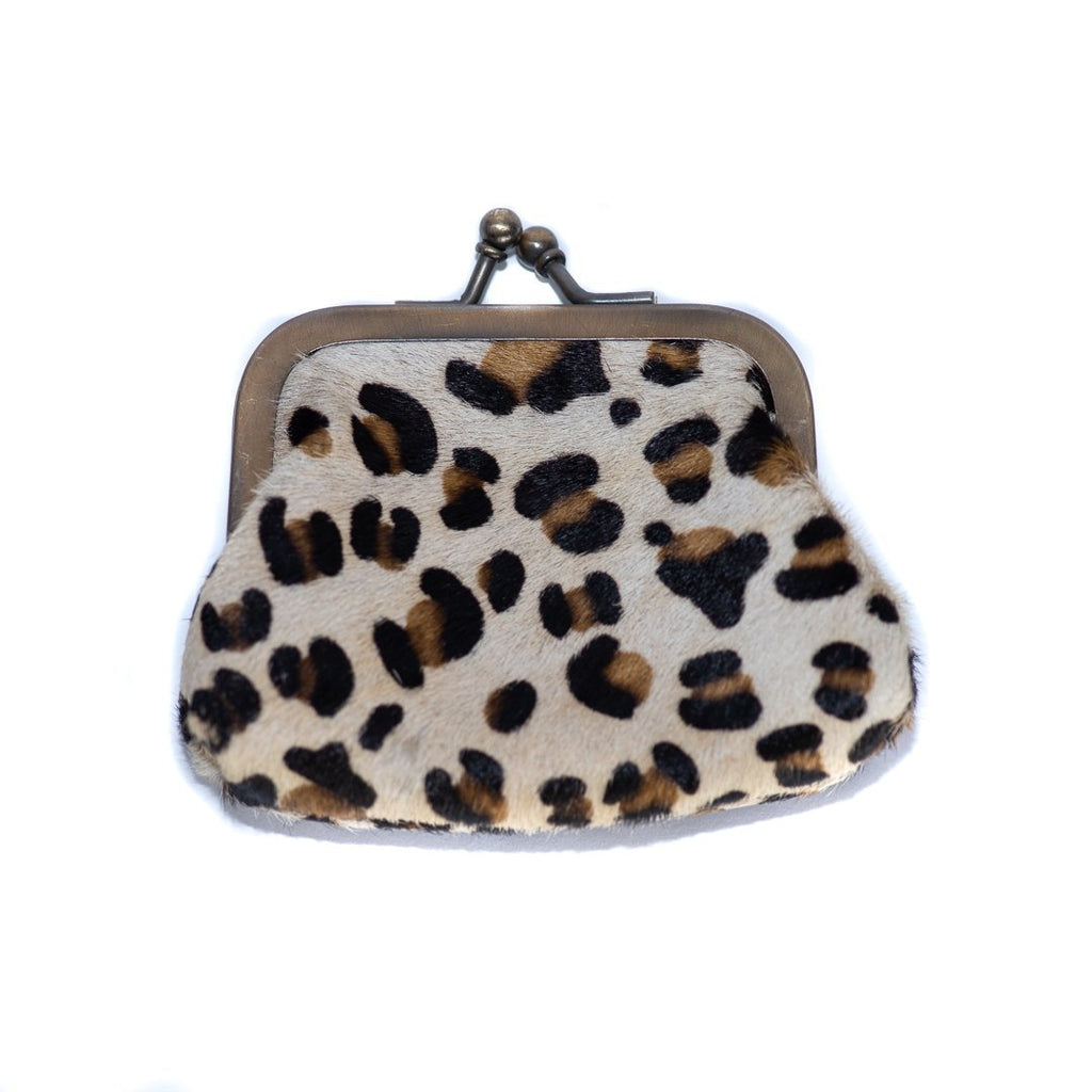 LouLou Leopard Full Leather Wallet - GiGi Fall/Winter '19, Leather Wallets, Wallets - LouLou Leopard Full Leather Wallet - ANNABO Online Store