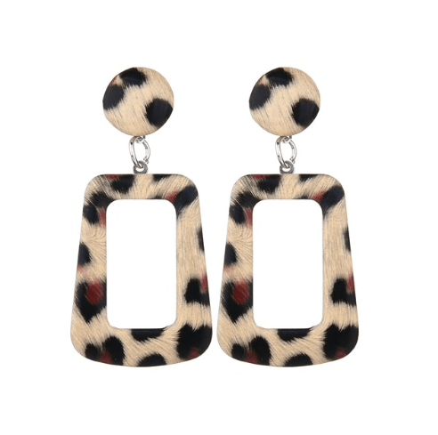 Lazy Leopard Earrings - Earrings, Earrings Colored, GiGi Fall/Winter '19 - Lazy Leopard Earrings - ANNABO Online Store