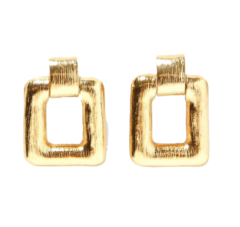 Liz Luxury Party Earrings Gold - Earrings, Earrings Gold, GiGi Fall/Winter '19 - Liz Luxury Party Earrings Gold - ANNABO Online Store