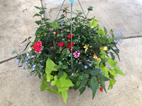 "16"" Mixed Fibre Basket for Shade"