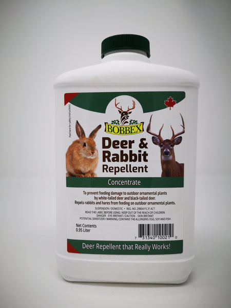 Deer and Rabbit Repellent Concentrate