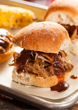 Load image into Gallery viewer, Dozen BBQ Pulled Pork Sliders
