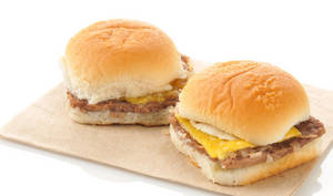 Dozen Beef & Cheese Sliders (Catering Creations' take on White Castle)