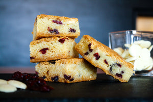 Fresh Baked White Chocolate Cranberry Blondies - 15
