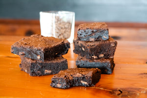 Double Chocolate Chunk Brownies