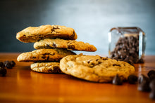 Load image into Gallery viewer, Freshly Baked Chocolate Chip Cookies - 1 Dozen