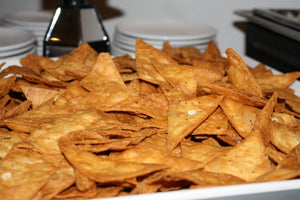Freshly Fried Flour Tortilla Chips