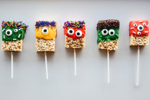 Load image into Gallery viewer, Monster Rice Krispie Pops
