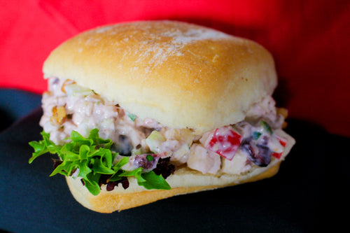 Roasted Turkey Waldorf Salad Sandwich