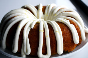 Pumpkin Spice Bundt Cake with Cream Cheese Frosting