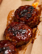 Load image into Gallery viewer, 40 Hand Rolled Barbecue Meatballs with Heating Instructions