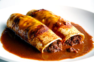 Mexican Beef Enchiladas with Southwestern Adobo Sauce