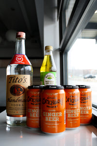 Moscow Mule Package with Vodka, Lime Juice, and Ginger Beer - SAME DAY DELIVERY