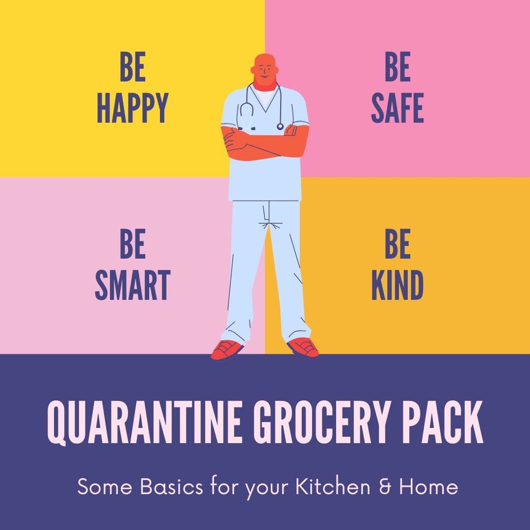 Quarantine Grocery Pack - SAME DAY DELIVERY