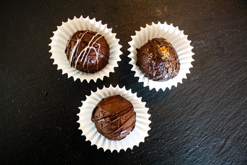 6 Hand Rolled Chocolate Truffles