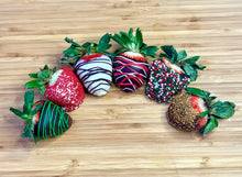 Load image into Gallery viewer, The Gift of Chocolate Dipped Strawberries