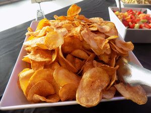 Homemade Kettle Potato Chips