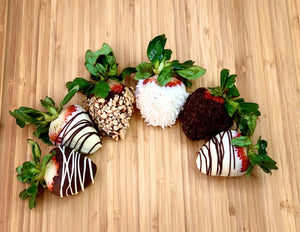 The Gift of Chocolate Dipped Strawberries