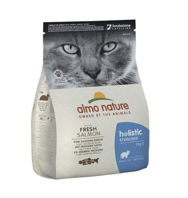 Holistic Sterilised - Salmon - Almo Nature - PetStore.ae