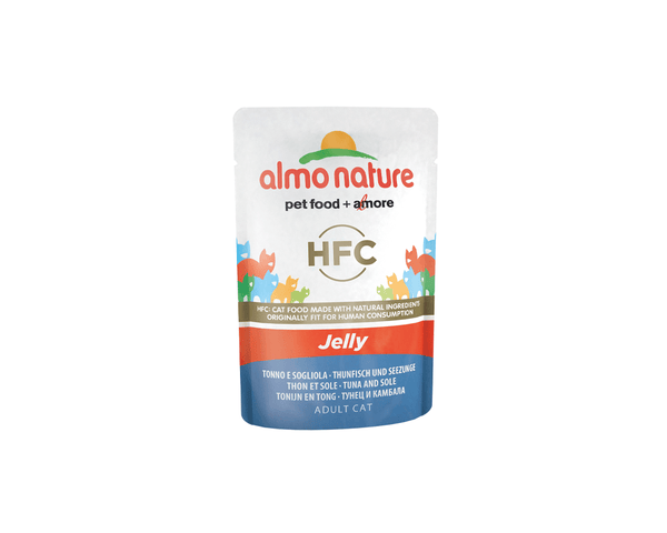 Jelly with Tuna & Sole Cat Food - Almo Nature - PetStore.ae