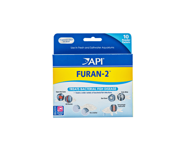 Furan-2 - Fish Disease Treatment - API - PetStore.ae