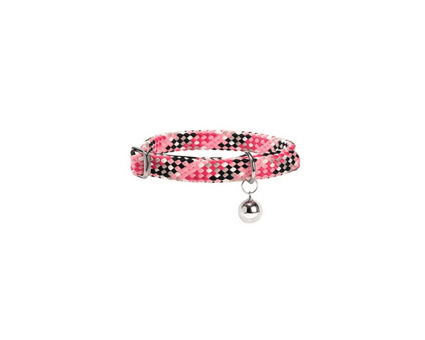 Arpege Cat Collar With Bell - Pink - Bobby - PetStore.ae