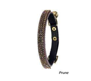Crystal Princess Cat Collar - Prune - Bobby - PetStore.ae