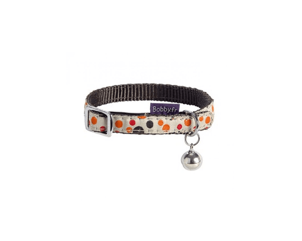 Doll Cat Collar With Bell - Orange - Bobby - PetStore.ae