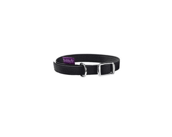 Flex Cat Collar - Black - Bobby - PetStore.ae