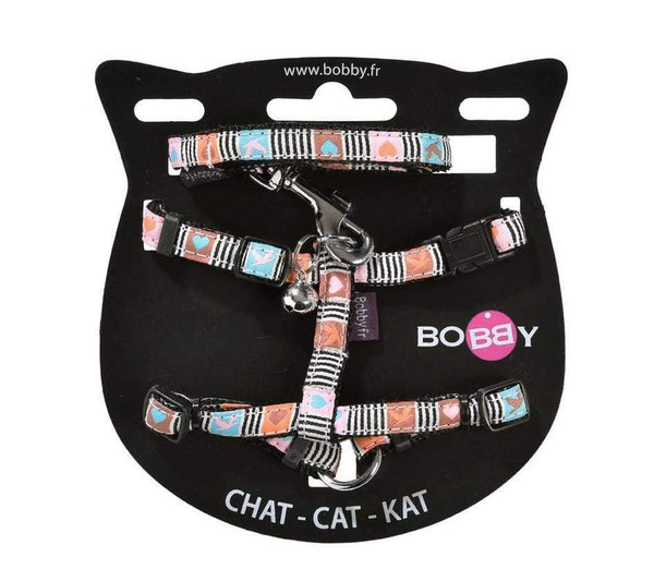 Musique Cat Harness and Lead - Pastel - Bobby - PetStore.ae