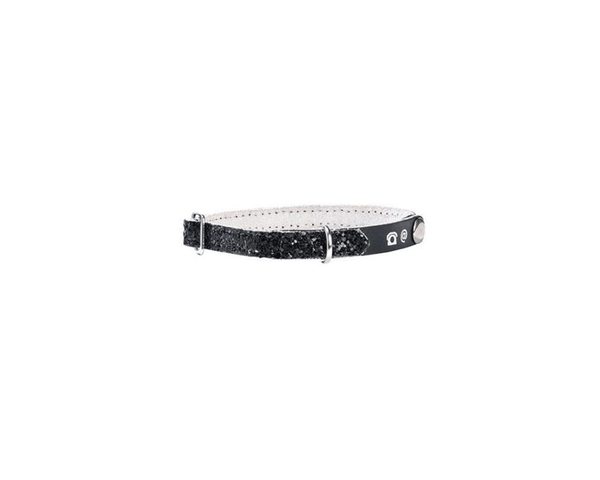 Porte Adresse Party Cat Collar - Black - Bobby - PetStore.ae