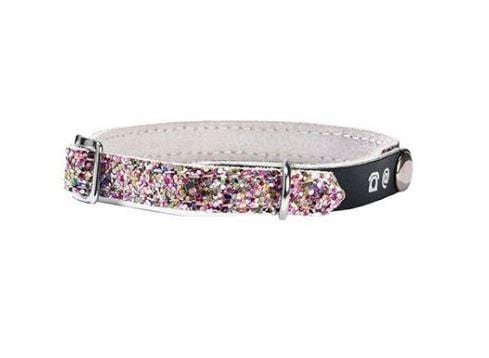 Porte Adresse Party Cat Collar - Pink - Bobby - PetStore.ae