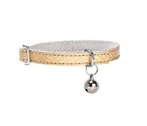 Power Cat Collar - Gold - Bobby - PetStore.ae