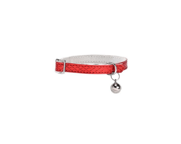 Power Cat Collar - Red - Bobby - PetStore.ae