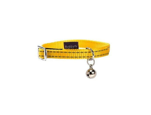 Safe Cat Collar - Yellow - Bobby - PetStore.ae