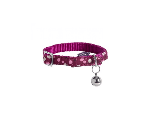 Doll Cat Collar- Pink - Bobby - PetStore.ae