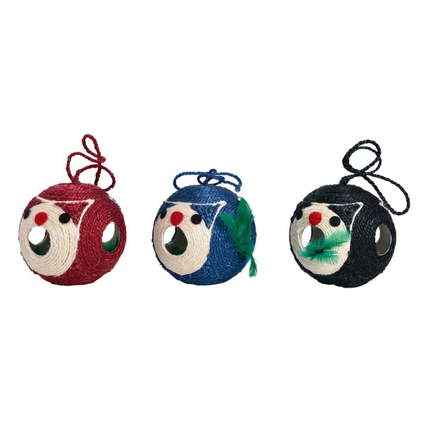 Griffoir Ours Scratching Ball Cat Toy - Bobby - PetStore.ae