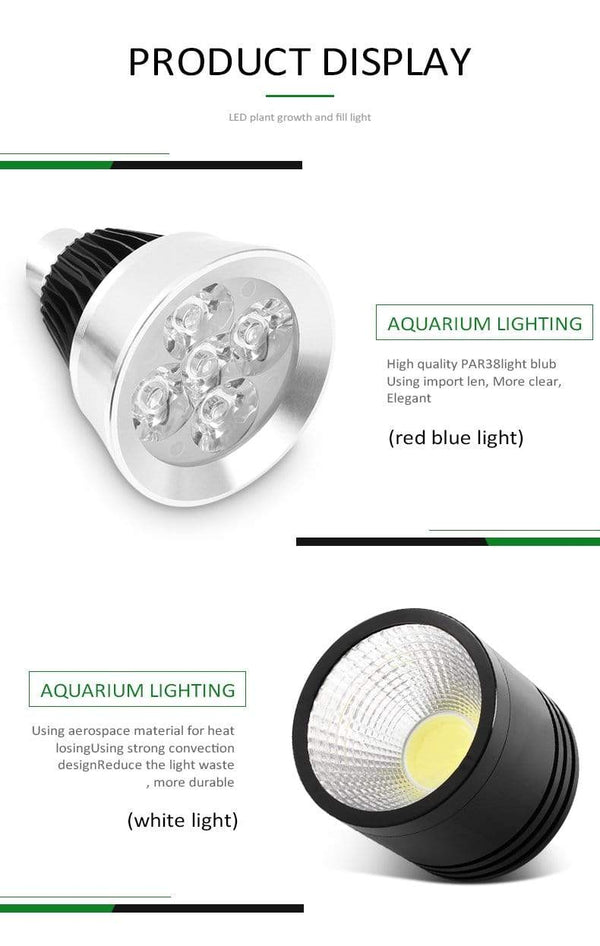 Refugium LED Light YD-01 - Coral Box - PetStore.ae