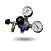 CO2 Regulator with 2 Gauges - D&D - PetStore.ae