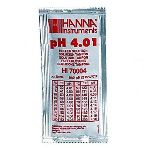 pH 4.01 Calibration Fluid HI70004 - Hanna - PetStore.ae