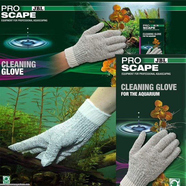 JBL Aquatics ProScape Cleaning Glove - Aquarium Cleaning Glove - JBL