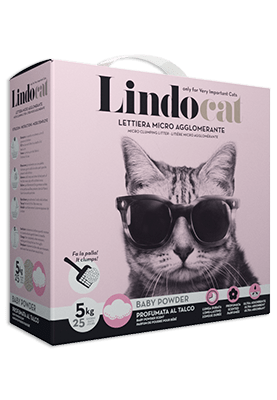 Baby Powder Cat Litter - LindoCat - PetStore.ae