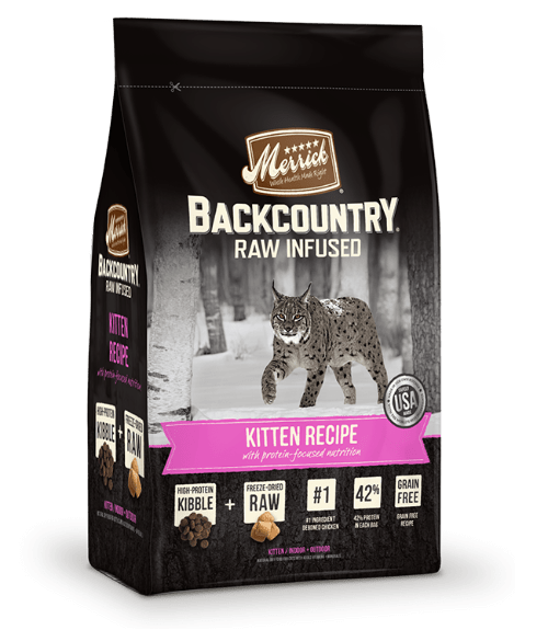 Backcountry Raw Infused Kitten Recipe - Merrick - PetStore.ae