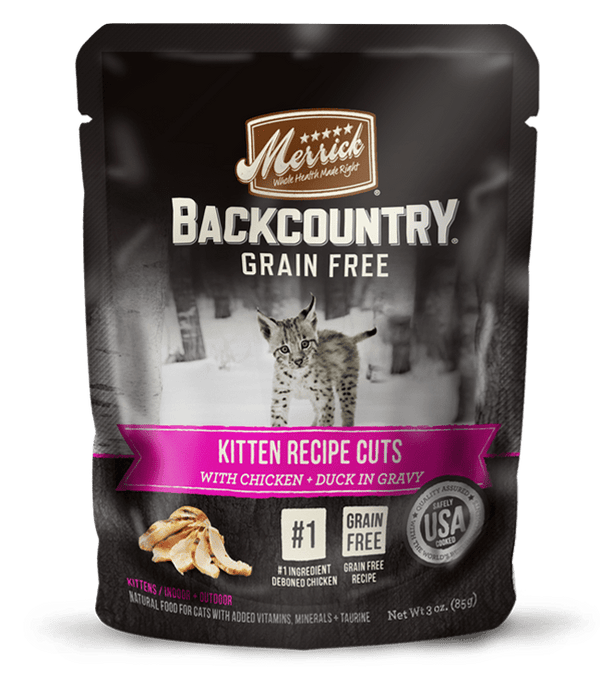 Backcountry Real Kitten Recipe Cuts - Merrick - PetStore.ae