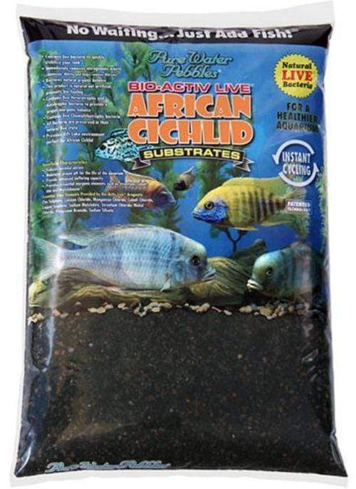 African Cichlid Substrates - Natural Black Live Cichlid Sand - Nature's Ocean - PetStore.ae