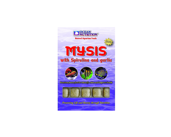 Frozen Mysis With Spirulina and Garlic - Fish Food - Ocean Nutrition - PetStore.ae